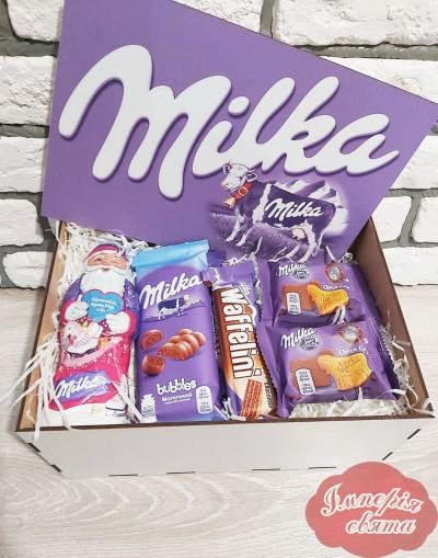 """Коробка """"Milka"""" 4"""