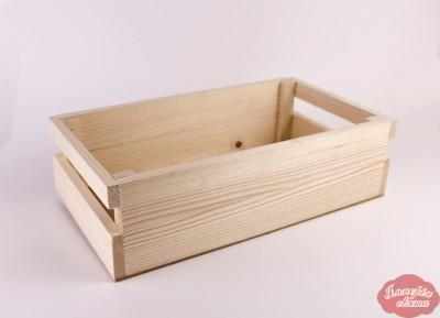 Ящик з планок з ручками великий