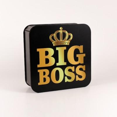 """Коробочка чорна """"Big Boss"""" корона"""